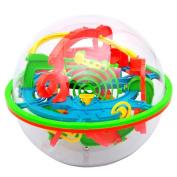 Intellect Ball,Aritone 3D Labyrinth Magic Intellect Ball Balance Maze Perplexus Puzzle Toy