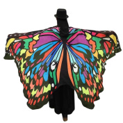 Hirolan Butterfly Wings Shawl Ladies Scarves Costume Accessory
