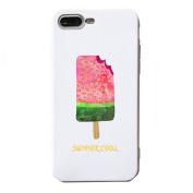 iPhone 7 Plus Case, Txibi Creative Ice Cream Soft Design Flexible TPU Slim Phone Protect Case Cover for iPhone 7 Plus 14cm