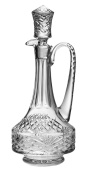 Barski - Hand Cut - Mouth Blown - Crystal - Oversized Decanter - with Handle - Majestic Design - 1660ml - Made in Europe