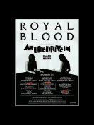 Royal Blood - November 2017 UK Tour Mini Poster - 40.5x30.5cm