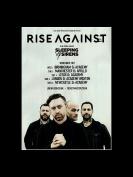 Rise Against - November 2017 UK Tour Mini Poster - 40.5x30.5cm