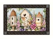 Magnet Works MAIL11102 Cottage Birdhouse MatMate