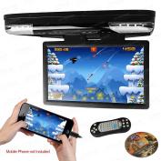 XTRONS CR1506 15.6 1080P VIDEO HDMI FLIP DOWN MONITOR WIDE SCREEN OVERHEAD DVD