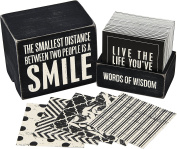 Primitives by Kathy Words of Wisdom Keepsake Inspiration Quote Box