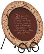 Your Hearts Delight Serenity Prayer Wooden Plate, 29cm