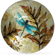 Angelstar 19162 Dragonfly Spirit Round Plate, 30cm - 1.3cm