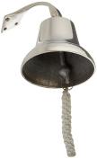 Polished Aluminium Dinner Bell 15cm - Nautical Ship Bell