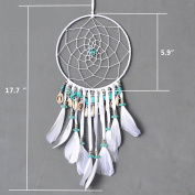 DREMISLAND Dreamcatcher Gif t Handmade Dream Catcher Net With Feathers Wall Hanging Decoration Ornament