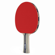 Duplex | 4 Star Ping Pong Paddle - Table Tennis Blade with Rubber - Beginner through Expert Racket