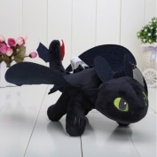 HABA How to Train Your Dragon 5.1cm - 25cm Toothless Night Fury Stuffed Animal Plush Doll Toy