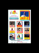 Jay-z Craig David Stormzy Dizze Rascal Sean Paul - V Festival 2017 Mini Poster - 40.5x30.5cm