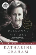 Personal History [Large Print]
