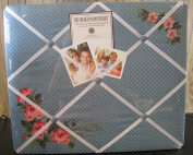 The French Memo Board - A Creative Display for Photos, Mementos, Greeting Cards and Much More- Floral - Factory Sealed