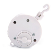 Baby Rotary Mobile Crib Bed Bell Toy Windup Movement Music Box With Rotating Hook Brahms Lullaby