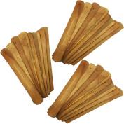 TrendBox 30pcs Handmade Plain Wood Wooden Incense Stick Holder Burner Ash Catcher Natural Design Buddhist