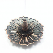 UOON Lotus Ash Catcher Incense Burner Holder For Stick and Coil Incense