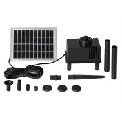 mountain ark 58 GPH Solar Power Water Pump Fountain Automatic Submersible for Garden Pond Pool Fish Tank with Starting Circuit, No Battery