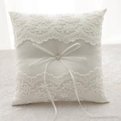 Rimobul Wedding Ring Pillow 20cm x 20cm - Ivory