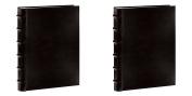 : Pioneer Sewn Bonded Leather BookBound Bi-Directional Photo Album, Holds 300 10cm x 15cm Photos, 3 Per Page. Colour