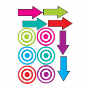 Ashley Productions Targets & Arrows Die Cut Magnet