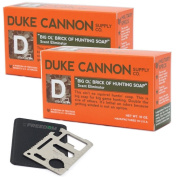 Duke Cannon Hunting Soap Set with 11-function Multi-tool
