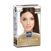 True Colour Light Brown Hair Colour, Case of 12
