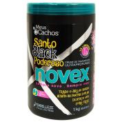 Novex Santo Black Poderoso ( Mystic Black My Curl ) Ultra Deep Treatment 1kg / 1040ml