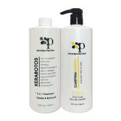 Kerabotos & Clarifying Shampoo 1000ml - 2 in 1 Treatment – Keratin + Botosmart by Smart Protection