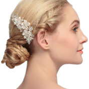 Wedding Bridal Hair Comb with Pearls and Crystals-Bridal Headpiece Wedding Accessories