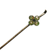 Tamarusan Hair Pin Musical Notes Green Score Handmade Antique Style Hair Stick