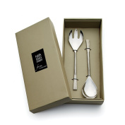 Napa Home & Garden Grove 2-piece Stainless Steel Serving Set