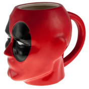DEADPOOL 3D MOULDED MUG