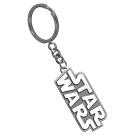 Star Wars Silver Logo Key Ring