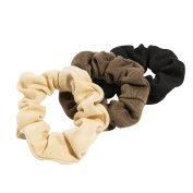 Glamour Style 3 Classic Hair Scrunchies