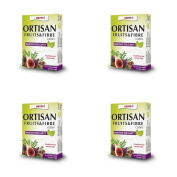 (4 PACK) - Ortis Ortisan Fruit & Fibre Cubes With Rhubarb | 12s | 4 PACK - SUPER SAVER - SAVE MONEY