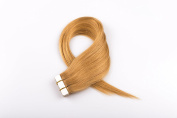 Seamless Tape In Skin Weft Remy Human Hair Extensions 41cm -60cm 20Pcs/40Pcs