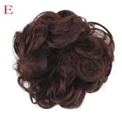 vmree Women's Curly Messy Bun Hair Twirl Piece Scrunchie Wigs Extensions Hairdressing