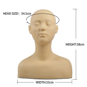 L7 Mannequin Practise Massage and Makeup Cosmetology Mannequin Training Head Bust