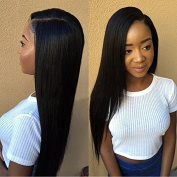 Brazilian Virgin Hair Straight 3/4 Bundles Deals 8A Grade Virgin Unprocessed Human Hair Weave Brazilian Straight Hair Extensions Natural Colour