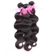 Indian Virgin Hair Body Wave 3 4 Bundles Unprocessed Human Hair Extensions Virgin Hair Weave Natural Colour 100g / Bundle