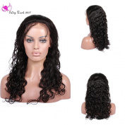 WigTech2017 150%Density Unprocessed Brazilian Virgin Human Hair Glueless Silk Base Top Full Lace Loose Curly Wigs With Baby Hairs For All Skin Tones Women