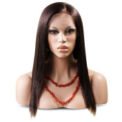 SKM Fashion Lace Front Wigs Long Straight Synthetic Hair Replacement Wig For Women Black Brown 8.2m