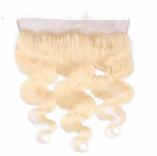 Romantic Angels 8''~20'' Remy Brazilian Hair Body Wave Lace Closure Free Part (13''x4'') Blonde #613 (18''