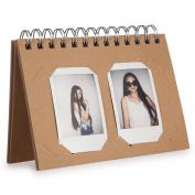 CAIUL Compatible Mini Book Album for Fujifilm Instax Mini 8 8+ 9 70 7s 25 26 50s 90 Film, Instax Square SQ10 Film