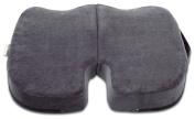 "Extra-Large TravelMate (50cm x 43cm x 3"") Coccyx Orthopaedic Gel-enhanced Memory Foam Seat Cushion"