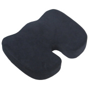LoveHome Coccyx Seat Cushion Memory Foam For Tailbone Injury, Sciatica, Hemorrhoid, Pelvic Pain Relief - Ideal Seat Pad For Office Chairs, Recliner, Wheelchair, Car Seat