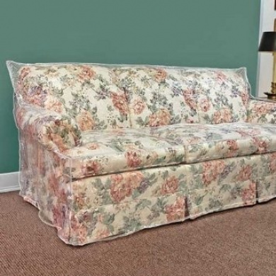 Clear Vinyl Furniture Protector Chair Recliner Cover 90cm W X