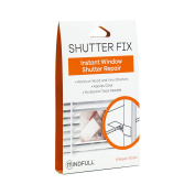 Mindfull Products Instant Window Shutter Repair Kit, 6-Pack, Clear