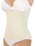 Unique Bargains Women's Underbust Belt Waist Girdle Body Control Shaper Cincher Corset Beige